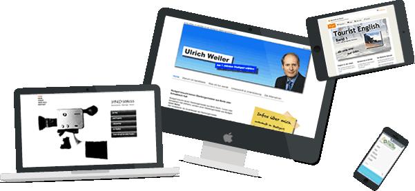 Tress Webdesign Stuttgart - Einige Webseiten aus meinem Portfolio
