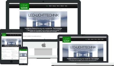 Webdesigner Stuttgart - Ihre Homepage angepasst für Smartphone, Tablet, Laptop und Desktop.