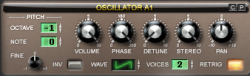 Club Music - Oszillator des Lennar Digital Sylenth1 VST-Plugins