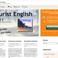 Tress Webdesign - ST-Production - Home - Desktop