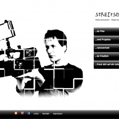 Tress Webdesign - Streifschuss - Home