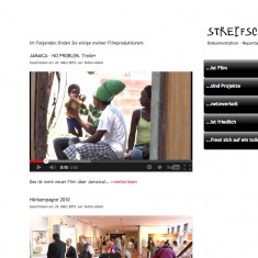 Tress Webdesign - Streifschuss - Video-Blog