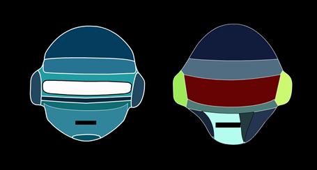 Daft Punk - Animierte Flashseite