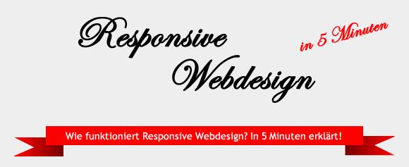 Responsive Webdesign in 5 Minuten