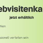 Webvisitenkarte erhältlich