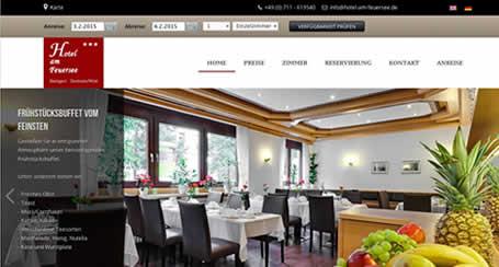 Hotelwebseiten