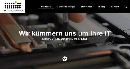C.M. Computerservice - Referenz Tress Webdesign Stuttgart